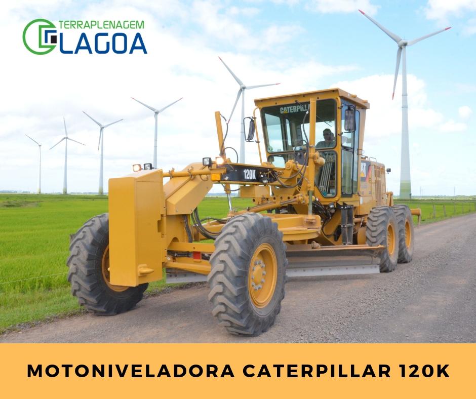 Sobre a Motoniveladora Caterpillar 120K